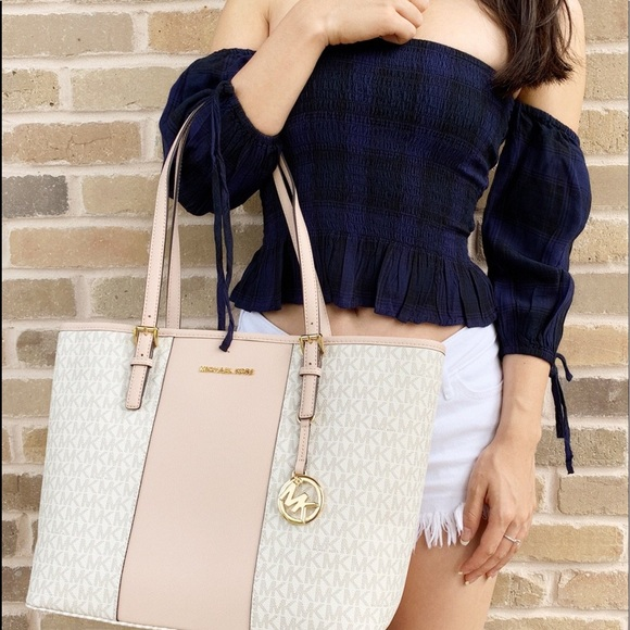 69e6bc92d Gaby'sBags👜💕-NWT Michel Kors Tote Ballet Pink Boutique
